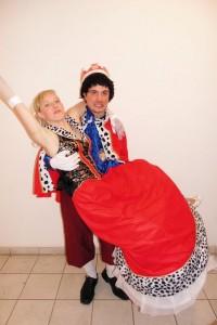 Prinzenpaar Stephie und Marco